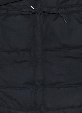 Зимняя парка матового черного цвета от dividet by h/m3