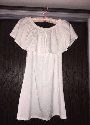 Плаття на плечі1