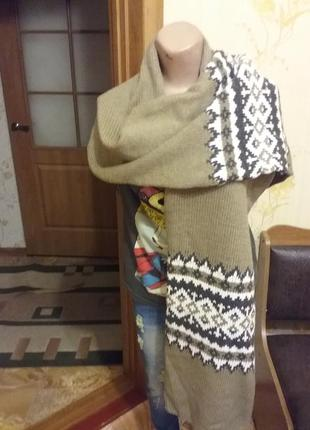 Тёплый шарф1