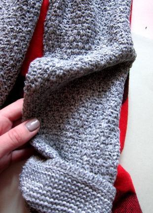 Актуальный свитер крупной вязки diversi4