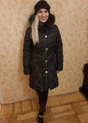 Пуховик зима1