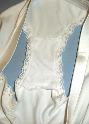 Нижнее белье женские трусы трусики плавки слипы размер 46-48 / 12 белые молочные2