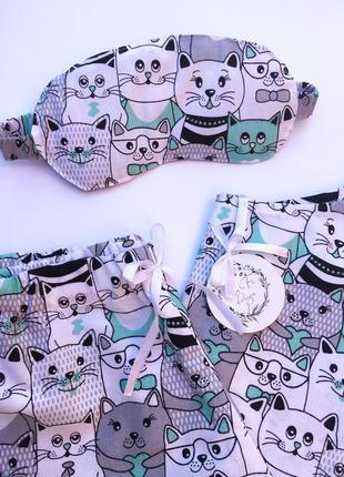 Хлопковая пижамка от tafi design4