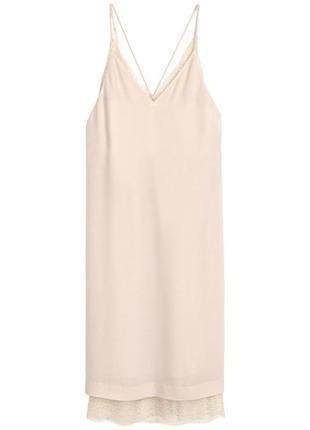 Кружевное платье h&m 3944492