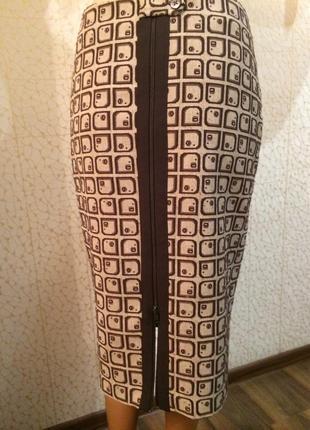 Модная теплая юбка1
