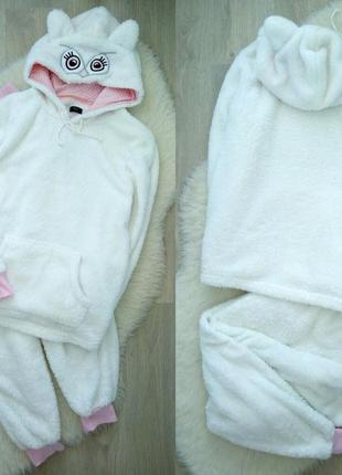 Супер мягкая\пушистая милая пижама\домашний костюм f&f с мехом3