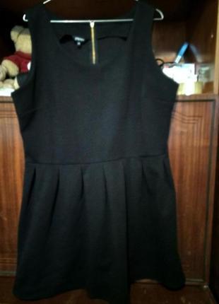 Красивое чёрное платье от papaya1
