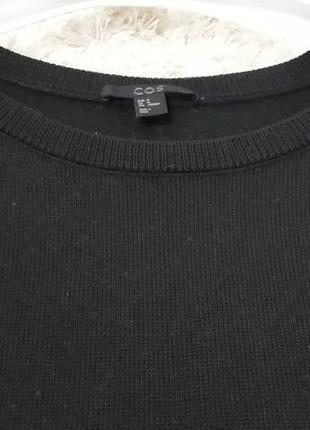 Шерстяное платье кокон cos5