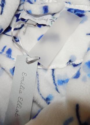 Шикарный плюшевый женский халат.  размер l,xl.2
