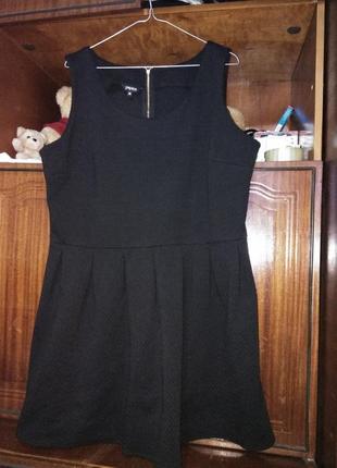 Красивое чёрное платье от papaya2