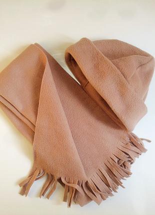 Набір шапуля та шарф
