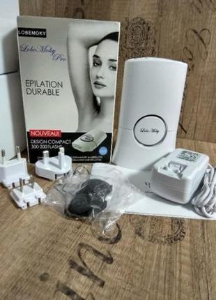 Фотоэпилятор элос эпилятор lobe moki 300000 гарантия 1 год1