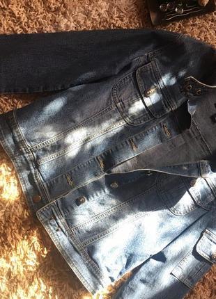 Куртка джинсовая2