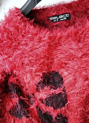 Пушистый свитер (травка) яркой расцветки5
