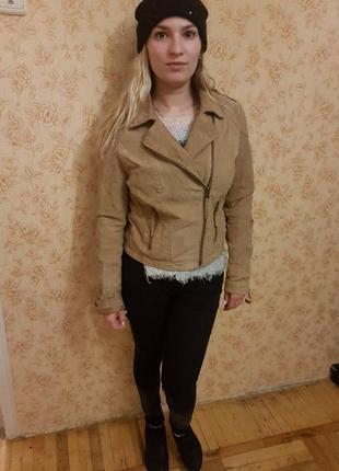 Куртка кожаная косуха3