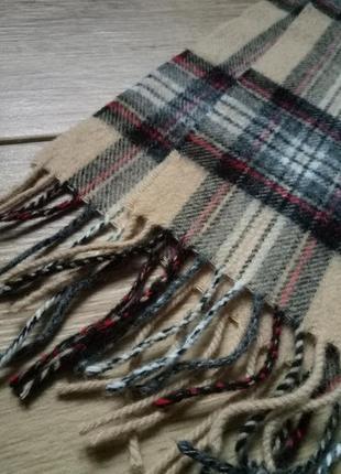 Шерстяной шарф elgin, натуральный теплый шарф, базовый шарф,кашемировый шарфик4