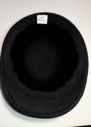 Шляпка кепка фуражка жокейка .4 цвета. премиум качество.шерсть3