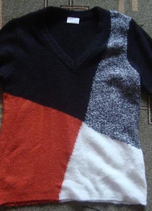 Теплый мягкий свитер джемпер1