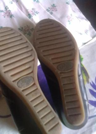 Ботинки из кожи, 26см стелька.5