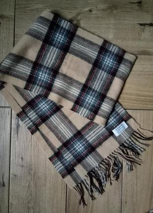 Шерстяной шарф elgin, натуральный теплый шарф, базовый шарф,кашемировый шарфик5