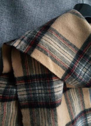 Шерстяной шарф elgin, натуральный теплый шарф, базовый шарф,кашемировый шарфик3