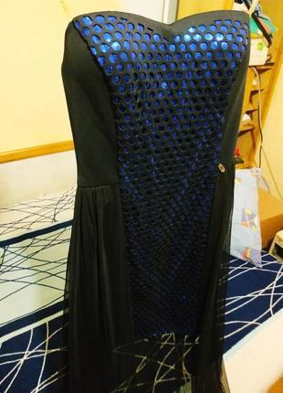 Элегантное платье крикмоды3