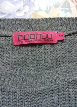 Вязаный свитер boohoo2