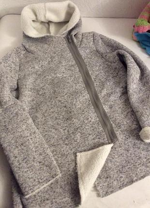 Тёплая кофта на меху teddyfleece р.48/502