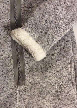 Тёплая кофта на меху teddyfleece р.48/504