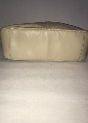 Кожаная сумка через плечо. стиль кросс боди2