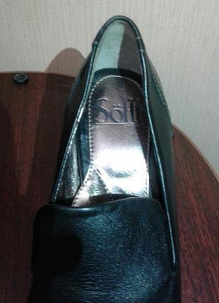 Классические туфли на среднем каблуке3