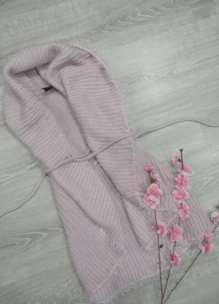 Нежно розовый кардиган1