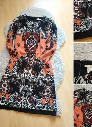 Красивое платье в принт от h&m3