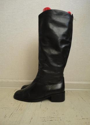 Женские сапоги, размер 38, стелька-25 см  кожа3
