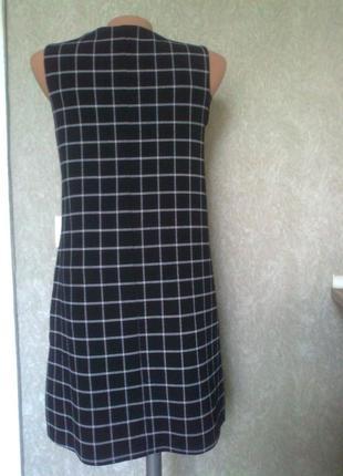 Трендовое платье*сарафан*в клетку от atmosphere2