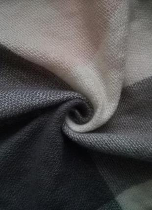 Главный тренд сезона шарф - плед (платок, палантин)! клетка!4