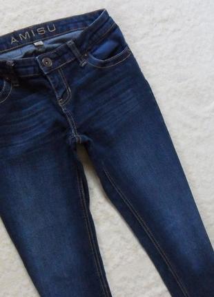 Стильные джинсы скинни amisu, 25 (xs) размер.5