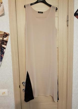 Новое платье с комбинацией twin set размер sm2