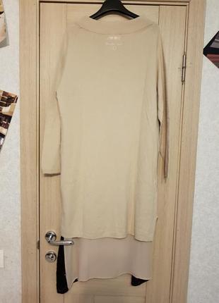 Новое платье с комбинацией twin set размер sm5
