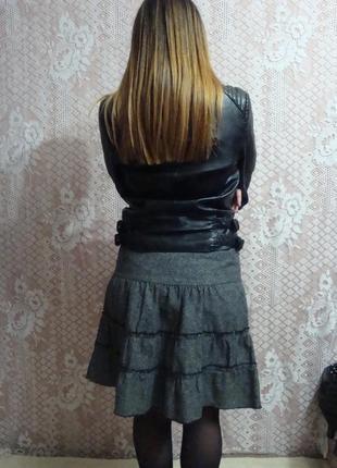 Теплая юбка фирмы specchio, италия.3