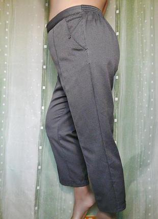 Удобная модель брюк, на резинке, на невысокий рост3