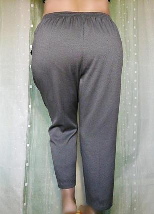 Удобная модель брюк, на резинке, на невысокий рост4