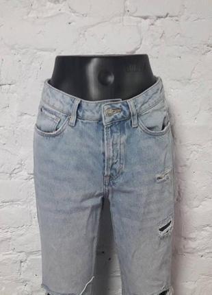 Очень классные джинсы h&m,бойфренды 27/28, м3