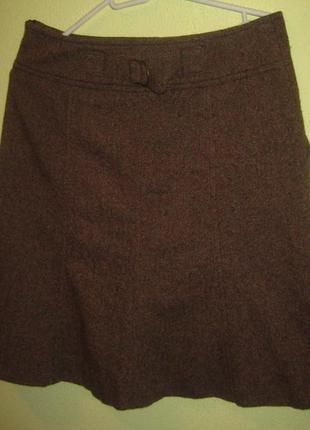 Актуальная брендовая  юбка с пуговицами спереди размер с-м2