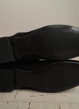 Женские сапоги в идеальном состоянии, размер 38, стелька-25 см натуральная замша5