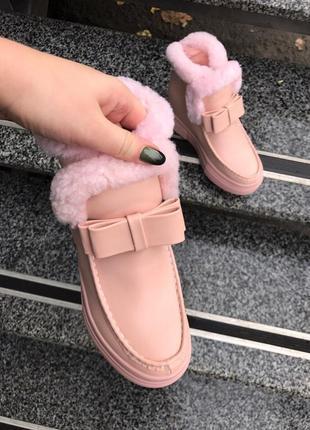 •зимние ботиночки1