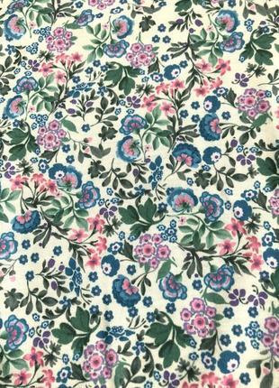Бежевое мини платье сарафан с разноцветными цветами, цветочками от dorothy perkins4