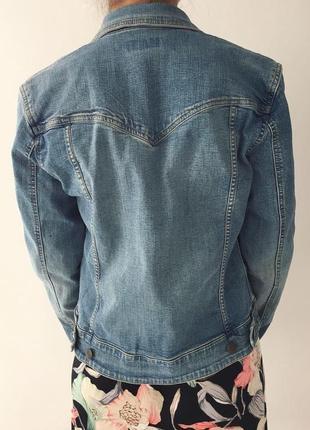 Джинсовий піджак h&m, джинсова куртка, жакет.5