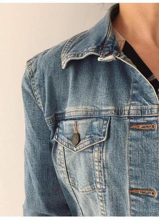 Джинсовий піджак h&m, джинсова куртка, жакет.2