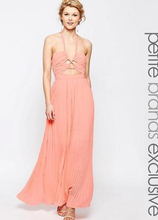 Платье макси с вырезом true decadence petite1